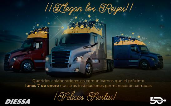 Felices Reyes 2019 - Diessa. 7 diciembre cerrados.