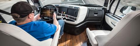 Camiones de conducción autónoma