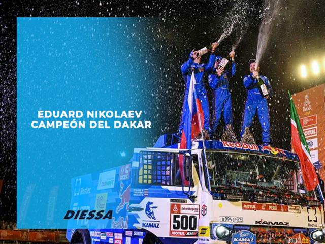 Eduard Nikolaev se lleva el Oro del Dakar 2019