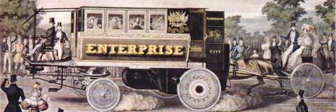 El primer autobús de la historia