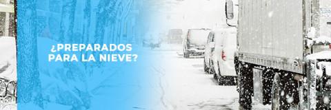 ¿Preparados para la nieve?