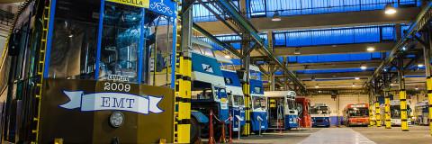 Museo EMT, un recorrido histórico del autobús urbano