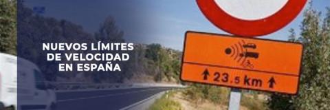 Nuevos límites de velocidad en España