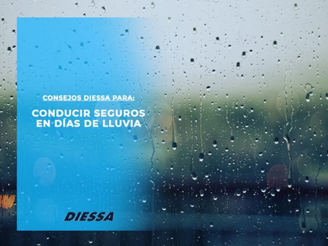 Consejos para conducir seguros en días de lluvia