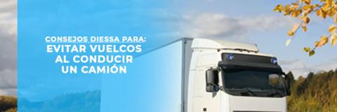 Consejos para evitar vuelcos al conducir un camión