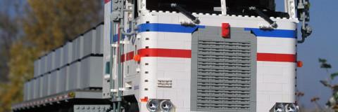Un nuevo hobby: reproducciones de camiones Lego para montarlos pieza a pieza