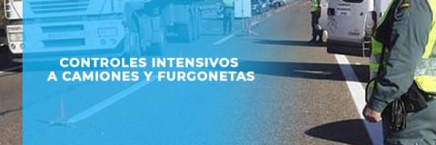 Campaña de control Intensivo a camiones, autobuses y furgonetas
