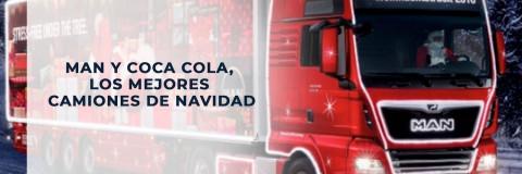 MAN y Coca Cola: los mejores camiones de Navidad.