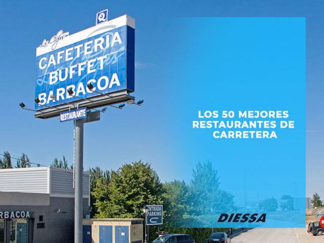 Los 50 mejores restaurantes de carretera en España