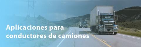 Aplicaciones que debes conocer si eres conductor de camiones