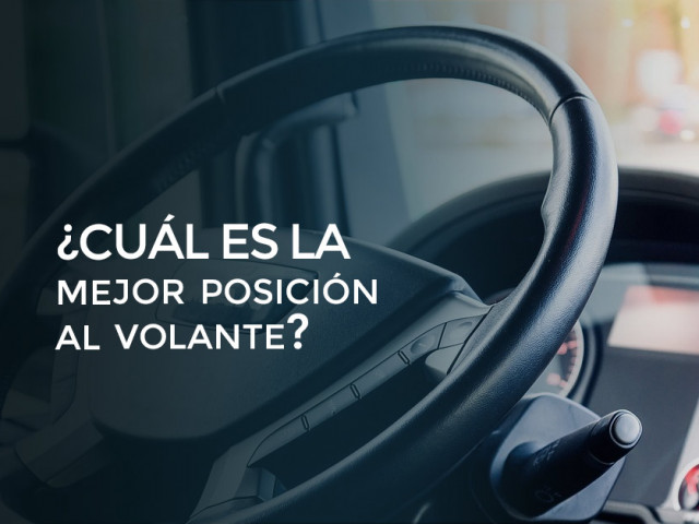 ¿Cual es la mejor posición al volante?