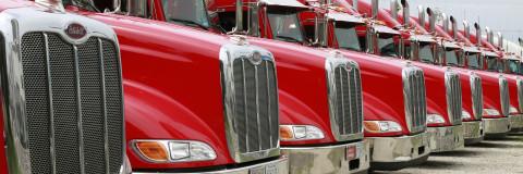 Camiones con mucho morro