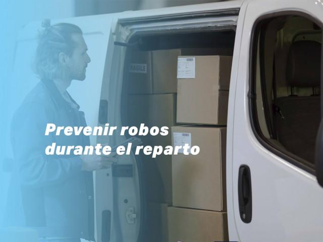 Cómo prevenir robos durante un reparto