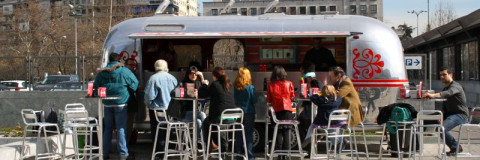 Foodtruck o restaurante sobre ruedas