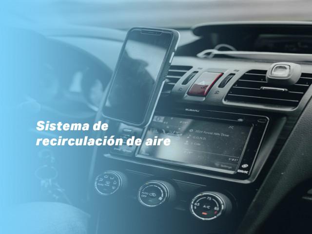 Sistema de recirculación del aire