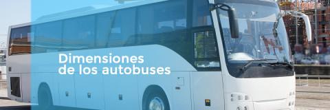 Dimensiones de los autobuses y sus tipologías